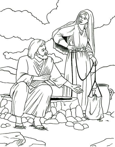 стал библейские картинки для раскрашивания в цвете одежда
