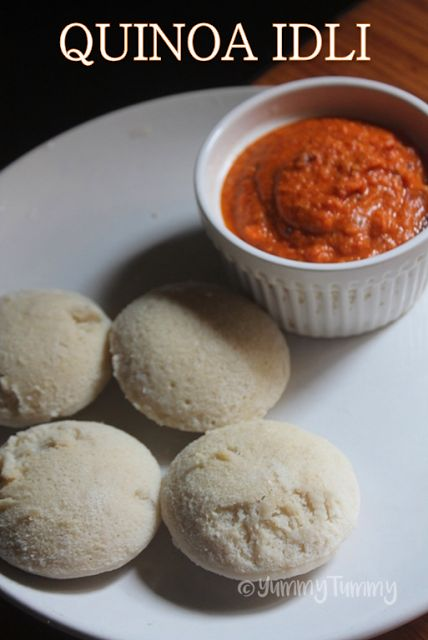 YUMMY TUMMY: Quinoa Idli Recipe - How to Make Quinoa Idly - Indian Quinoa Recipes