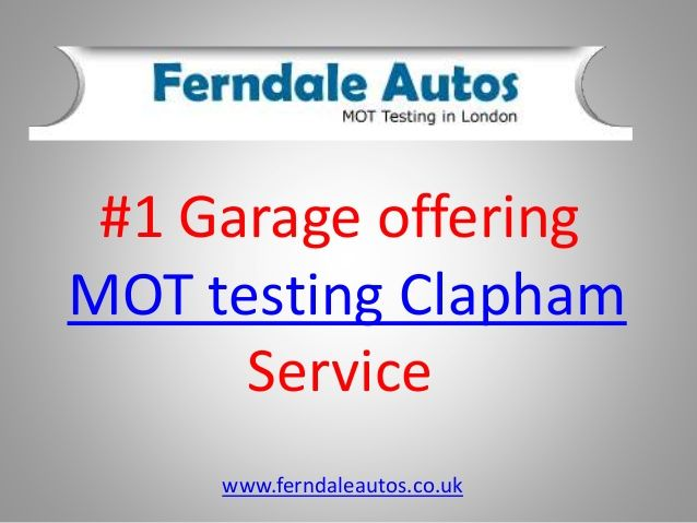 If you are a resident of Clapham and looking to buy an used car or own your own #MOT test is a regular search for you. Here is a brief about MOT testing #Clapham for you