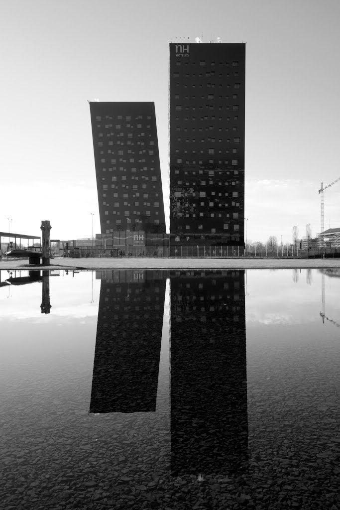 Fiera Milano - NH Hotel - Dominique Perrault Architecture