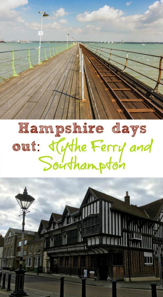 What you can expect during a ride on Hythe Ferry and the world's longest pier train. Plus what there is to see in Southampton on foot when you get there.