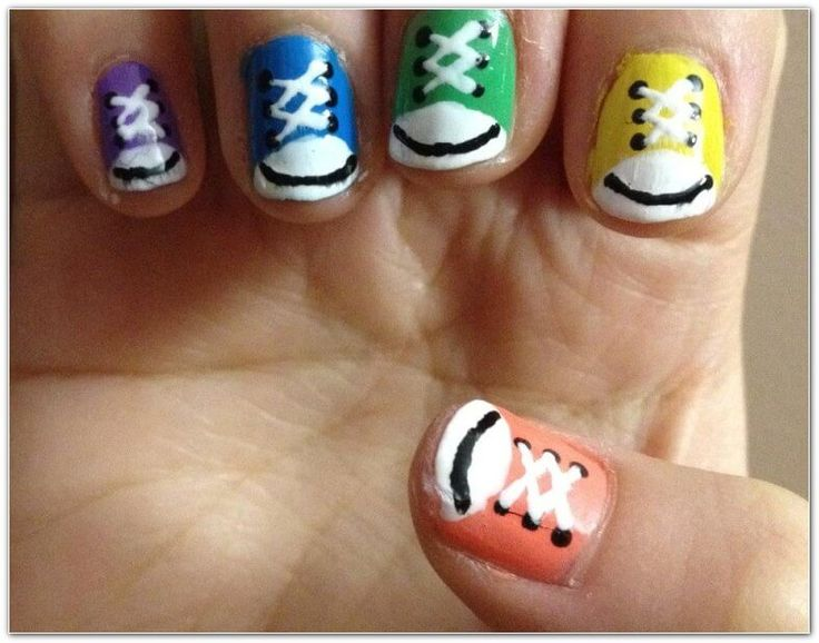 Easy Nail Art Designs For Short Nails inside Nail Art Designs Gallery