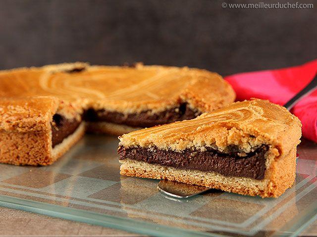 Variante - Recette de gâteau basque au chocolat