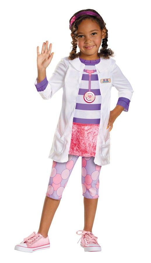 Doc McStuffins Toddler / Child Girl's Costume