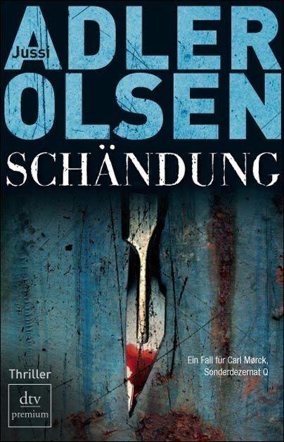 Jussi Adler Olsen - Schändung. Die ganze Rezension findet ihr hier: http://lucciola-test.blogspot.de/2014/07/kurzrezension-jussi-adler-olsen_20.html