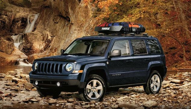 2014 Jeep Patriot Interior Dimensions