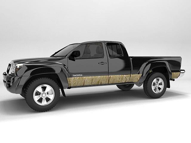 #autocollant #sticker #camouflage #véhicule Bande décorative joncs blonds / Golden Reed decorative stripe for vehicle. $209.95