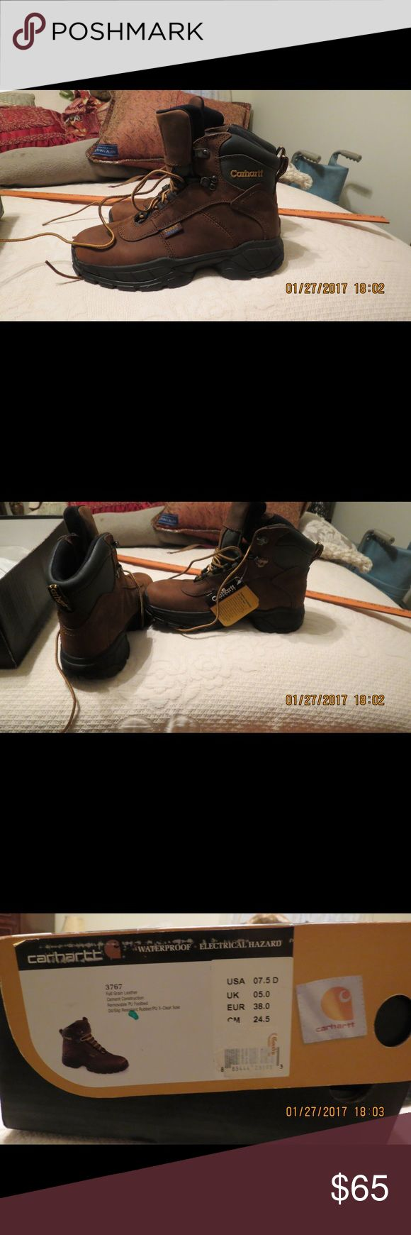 CARHARTT Ladies Workboots NIB, ladies Workboots  7.5 D ankle high Carhartt Shoes Ankle Boots & Booties