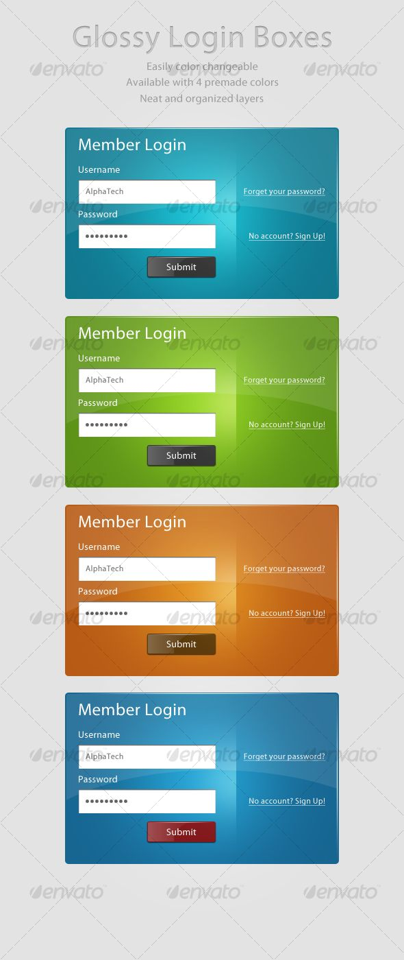 web form template