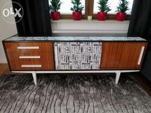 Wyjątkowa komoda lata 70, Design PRL, LOFT Lublin - image 1