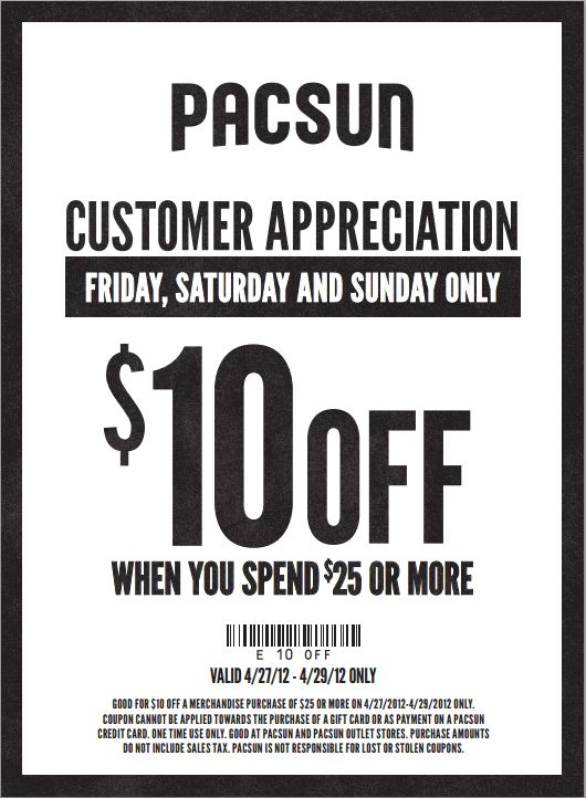 picture relating to Pacsun Printable Coupon known as Pacsun discount coupons 2018 - Basic pearl coupon code 2018