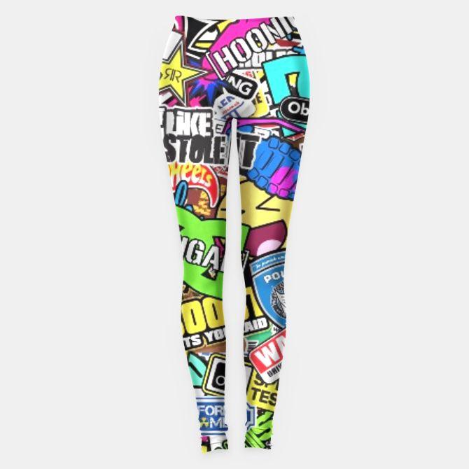#sticker #bombs #leggings II
