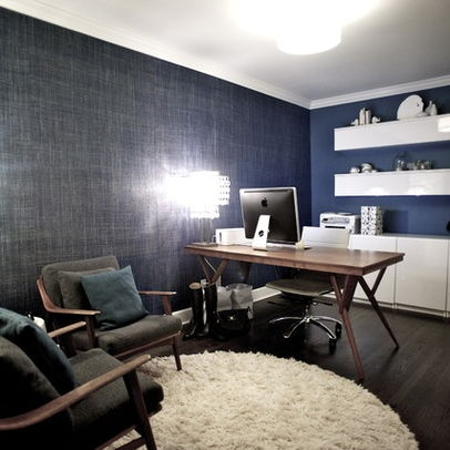Delightful Home Office Photos Vintage Modern Office Design Ideas, Pictures, Remodel,  And Decor