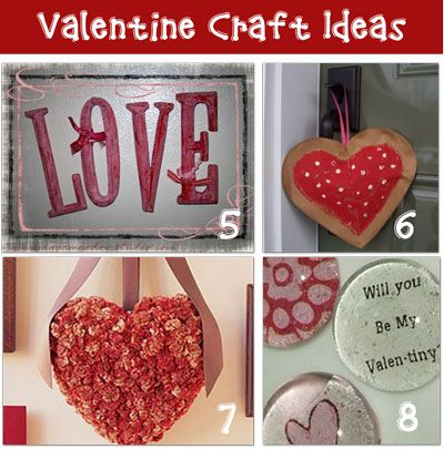 Craft Ideas For Valentineu0027s Day