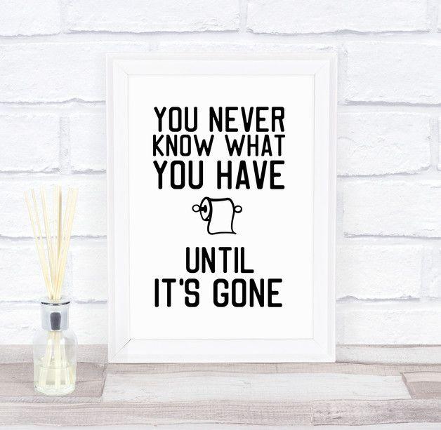"""**Das Bild """" know what you have """" gedruckt auf Künstlerpapier in bester Qualität, ist eine kreative Komposition aus Typografie und Formen.** Mit vie…"""