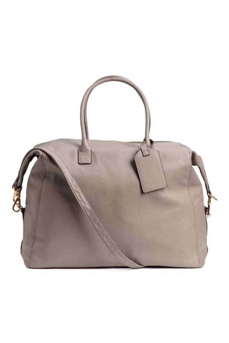 Weekend bag - Light mole - Ladies | H&M GB 1