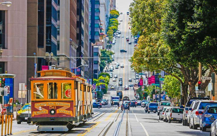 #PróximaParagem São Francisco  Com o Pacífico, as ladeiras, as casas vitorianas, a Golden Gate Bridge, entre outras maravilhas, São Francisco é uma das cidades de eleição dos Estados Unidos da América.  www.azoresairlines.pt