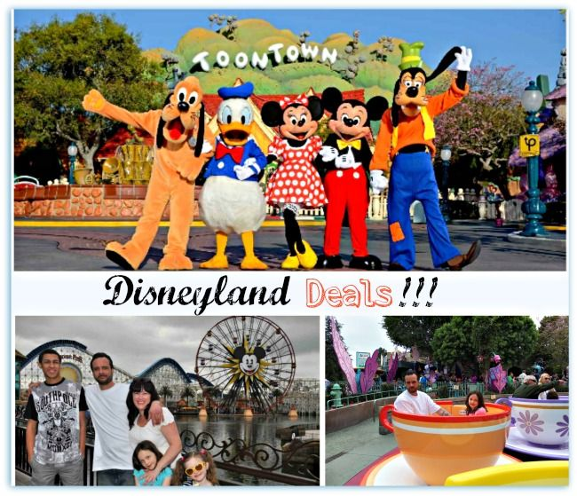 Disneyland california hotel and ticket deals