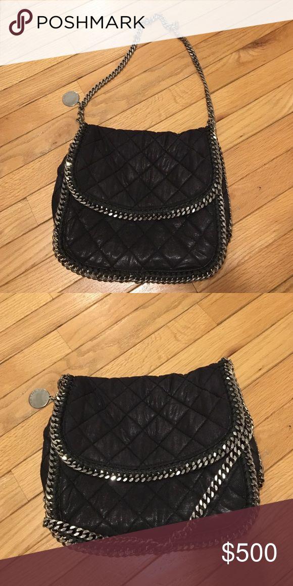 Stella McCartney purse Stella McCartney black quilted bag with chain strap Stella McCartney Bags Shoulder Bags