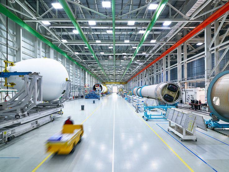 United Launch Alliance factory. Huntsville, Alabama.