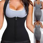Women Neoprene Sauna Sweat Waist Trainer Vest With Zipper For Weight Loss Gym3  Style - Waist Cinchers, Size Type - Regular, Intimates  Sleep Size (Women039s) - S-3XL, Features - Boned, Occasion - Everyday, MPN - Does Not Apply