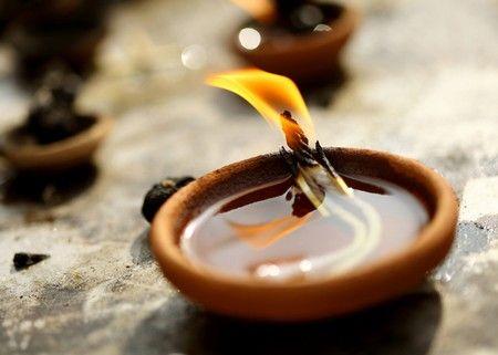10 candele a olio fai-da-te