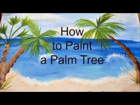How to Paint Easy Palm Trees - Flower Patch Farmhouse