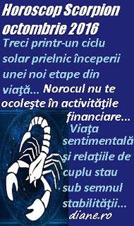 Scorpion octombrie 2016