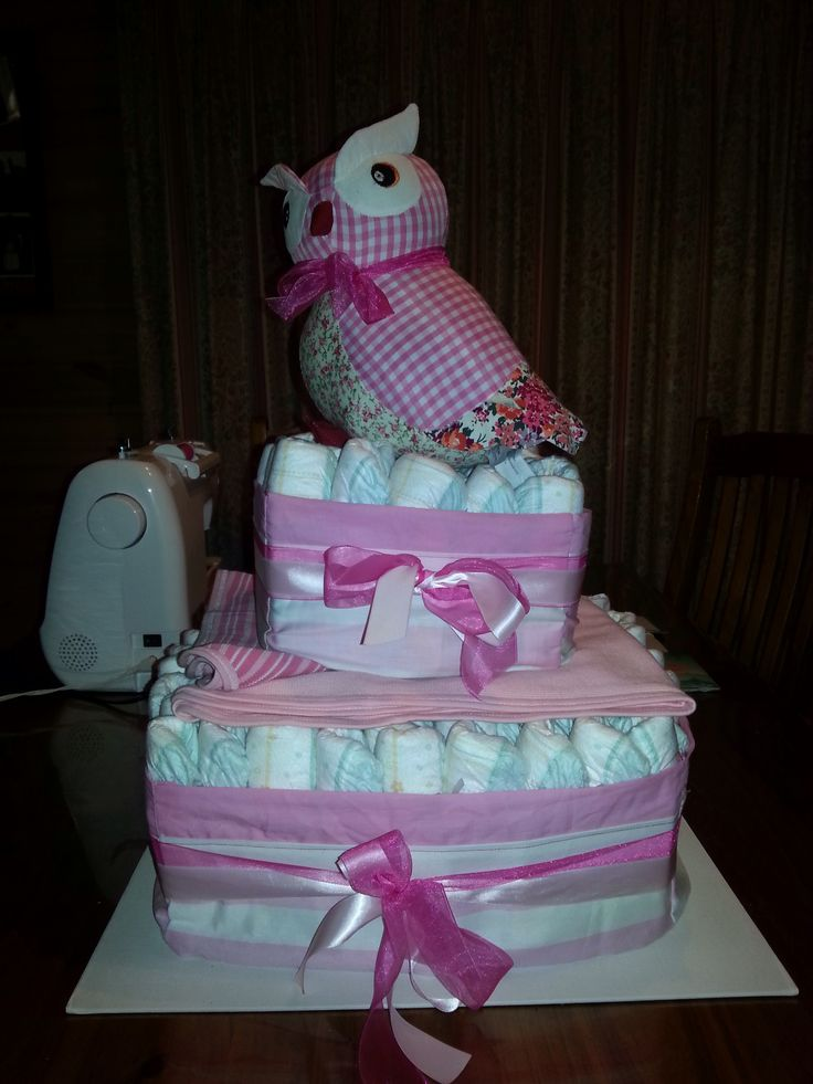 Nappy cakes available! Please like our Facebook page Hello Sweet Cheeks :-)
