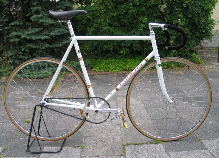 Prachtige lüders pista baanfiets volledig campagnolo pista (inclusief de originele factuur uit begin 1975) let op: de campa super record pedalen zijn inmiddels vervangen door campa record