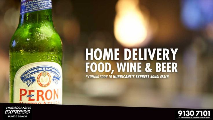 Home delivery Food Wine and Beer