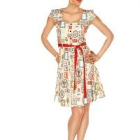 Art Gallery Dress by Folter Retrolicious