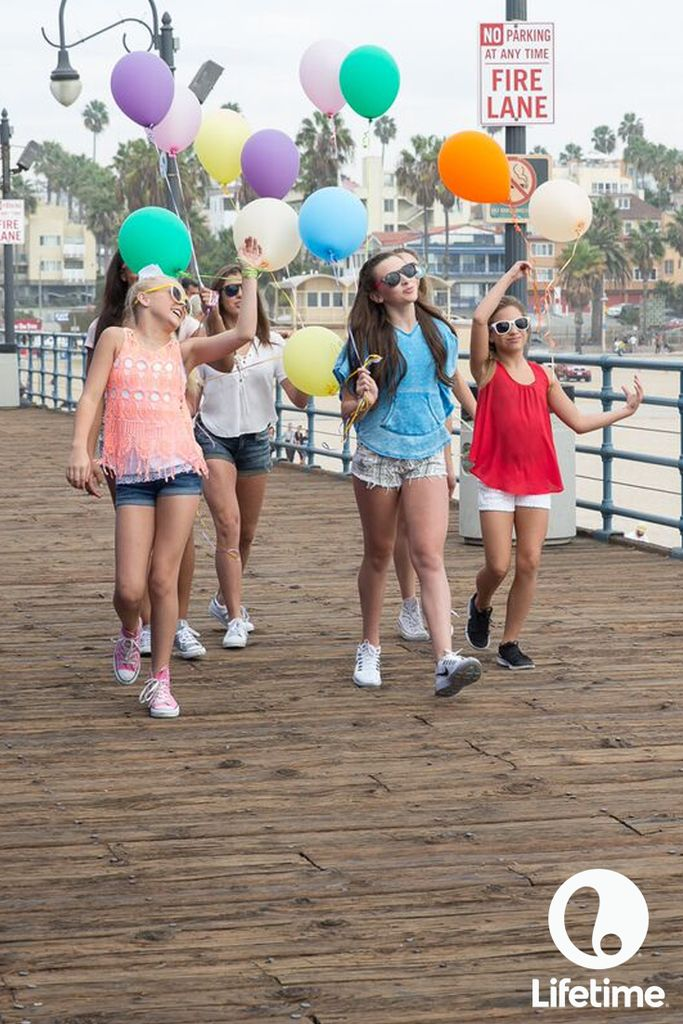 The girls of Dance Moms bring the party with them wherever they go.