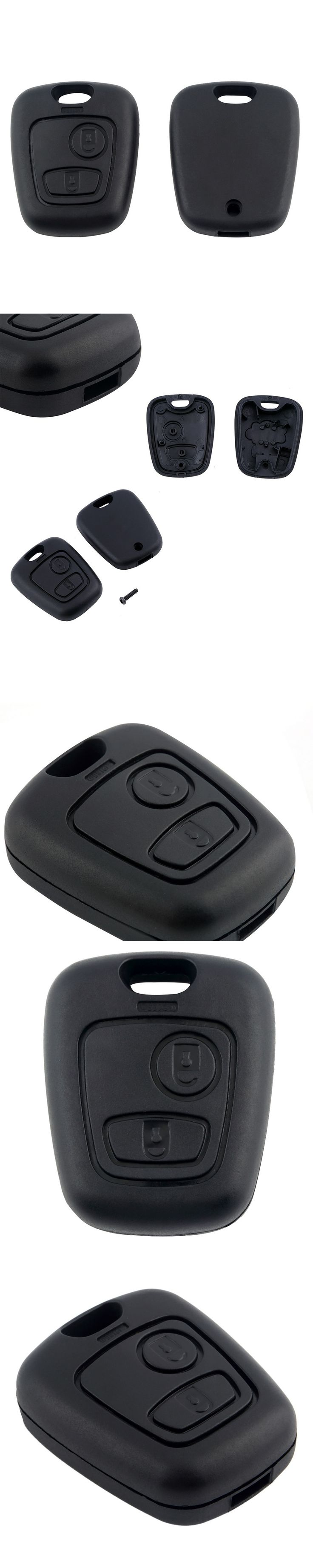 2 Button without Blade Remote Car Key Case Shell Fob For Citroen C1 C2 C3 Pluriel C4 C5 C8 for Xsara for Picasso Cover
