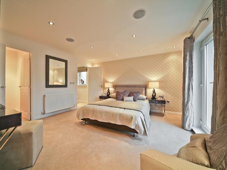 Modern sleek master bedroom from our Cavalry Park development in Kilsyth.