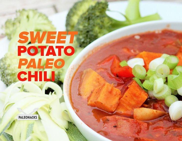 Sweet Potato Paleo Chili