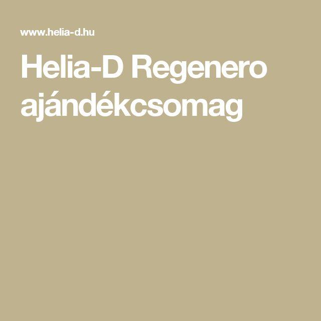 Helia-D Regenero ajándékcsomag
