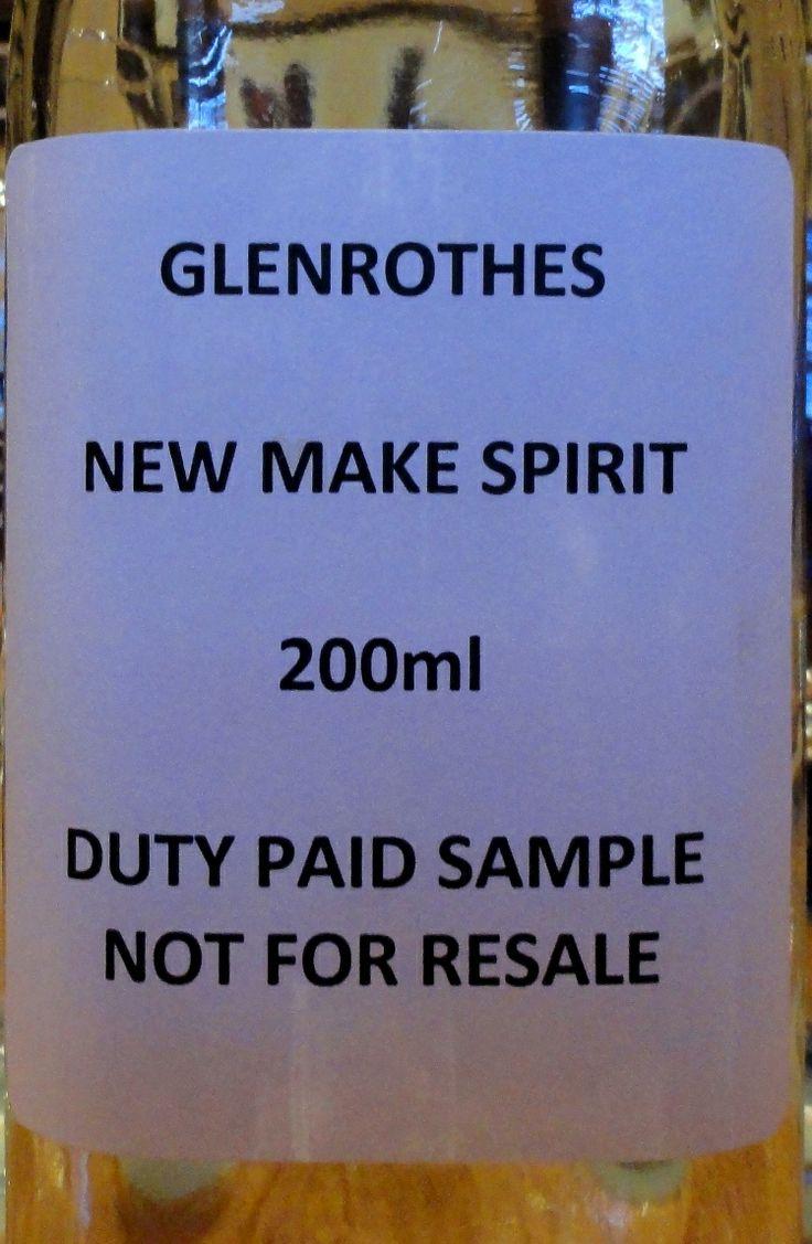 Glenrothes New Make ±70% (Feb 2014)
