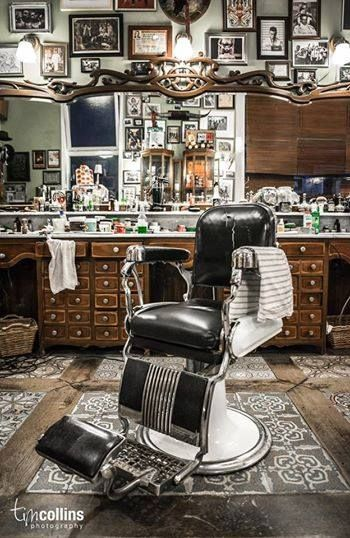 Ole time Barber Shop - looks so cool