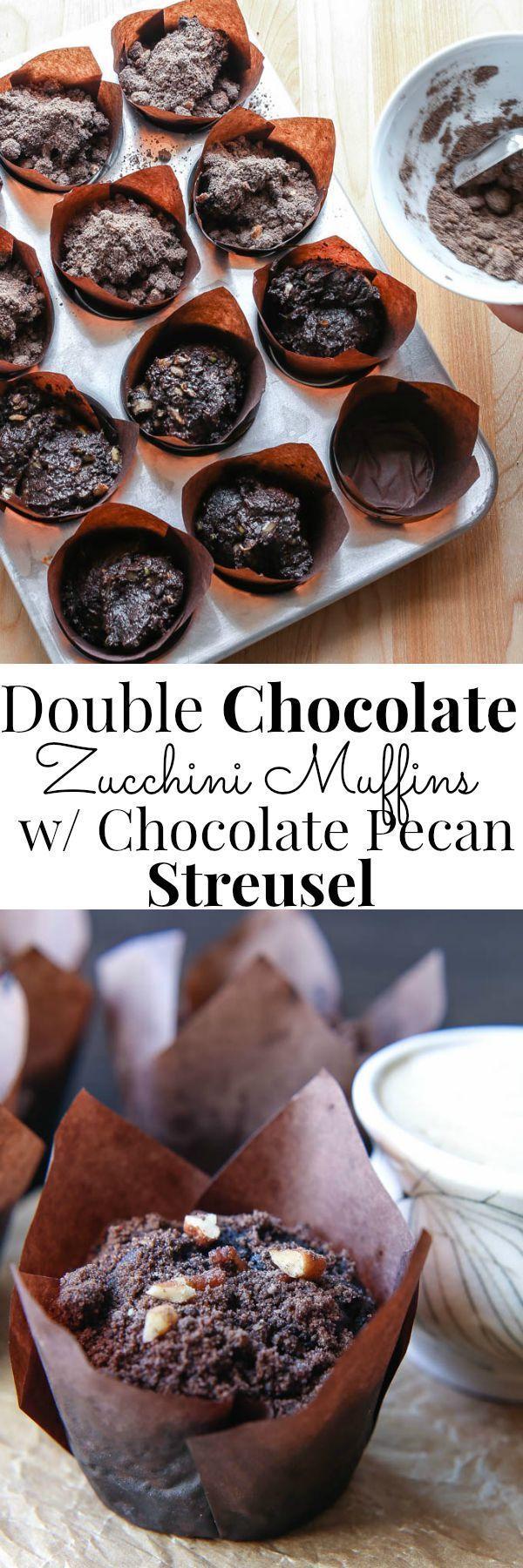 Zucchini schoko muffins rezept