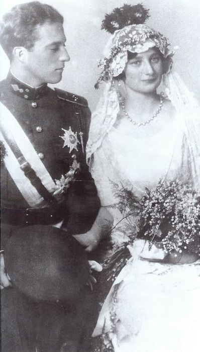 King Leopold III and Queen Astrid of Belgium, wedding photograph.