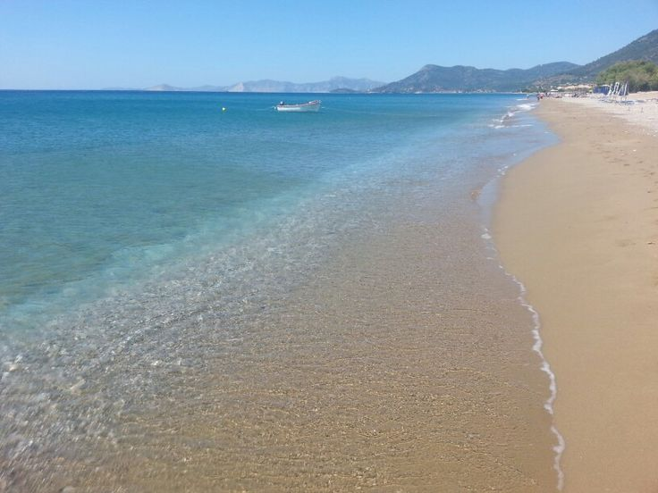 Greece, Samos, Kampos beach