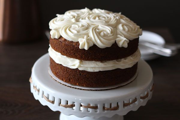 Carrot Cake with Cream Cheese Frosting | Nibbles and Noshes | Pintere ...