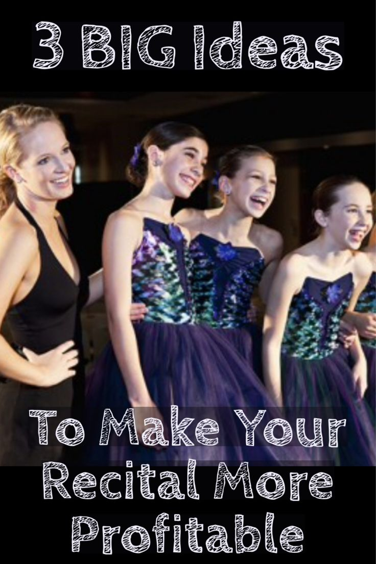 This year, are you hoping to make your dance recital more profitable? Take a look at this dance conference presentation made by the co-founder of TutuTix!