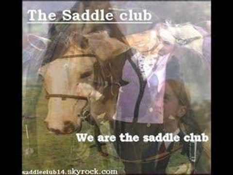 The Saddle club - We are the saddle club, as performed by the actors for the album.