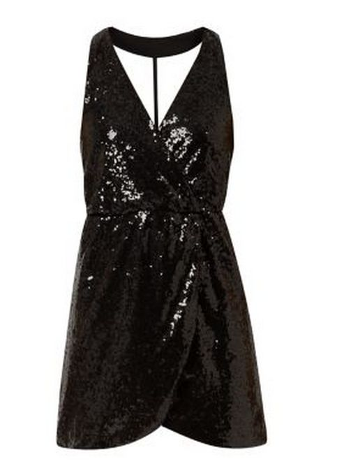 Black Sparkly Playsuit from the collection