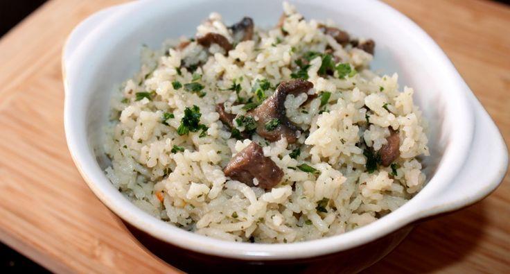 Gombás-hagymás rizs recept | APRÓSÉF.HU - receptek képekkel