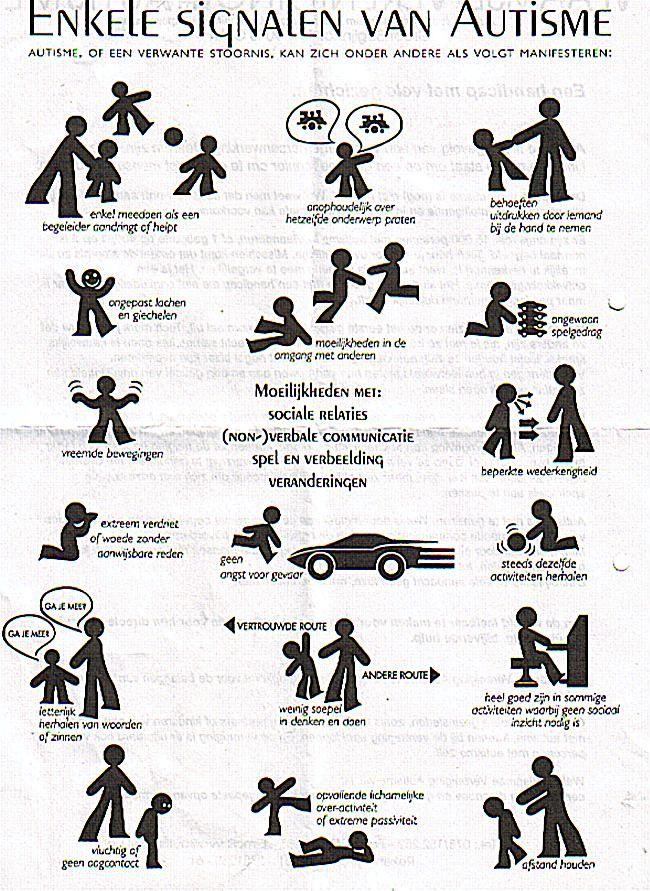autisme symptomen
