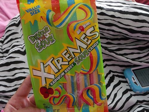 <3 my fav... sour candy is YUM!