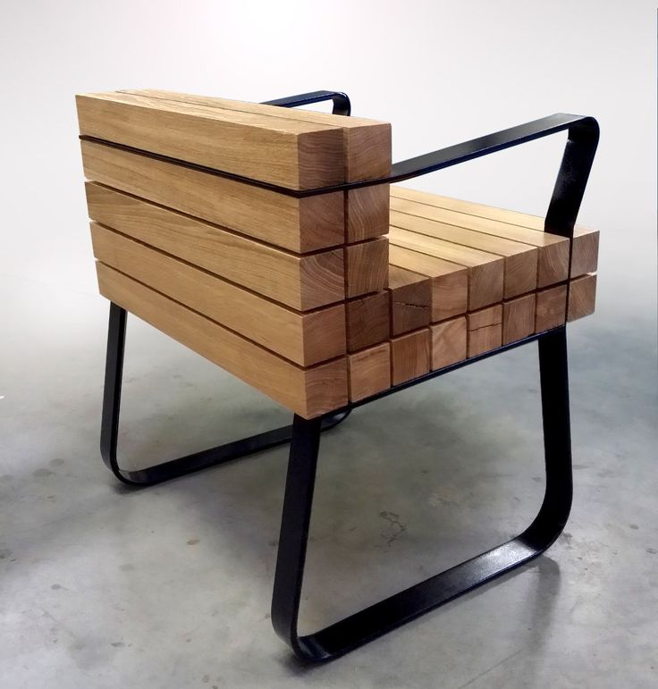 Chaiss fauteuil arrondi design Sébastien Mazzoni